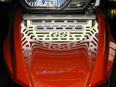 BMW GS motorcycles - oil cooler / radiator guards