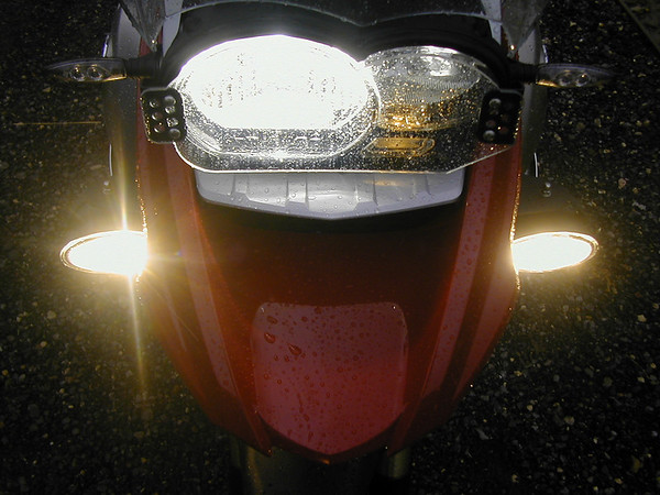 Headlight protectors for R1200 / 1100 / 1150 GS