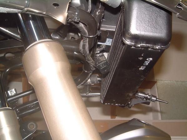 2008 R1200GS GPS power socket