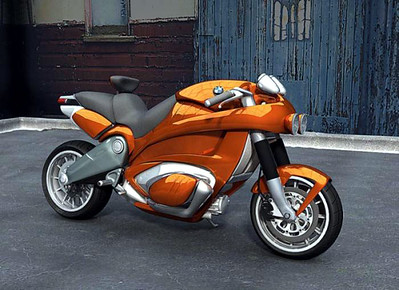Weird BMW concept motorcycle