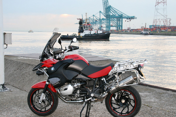 BMW R1200GSA - Rusor's Red Baron