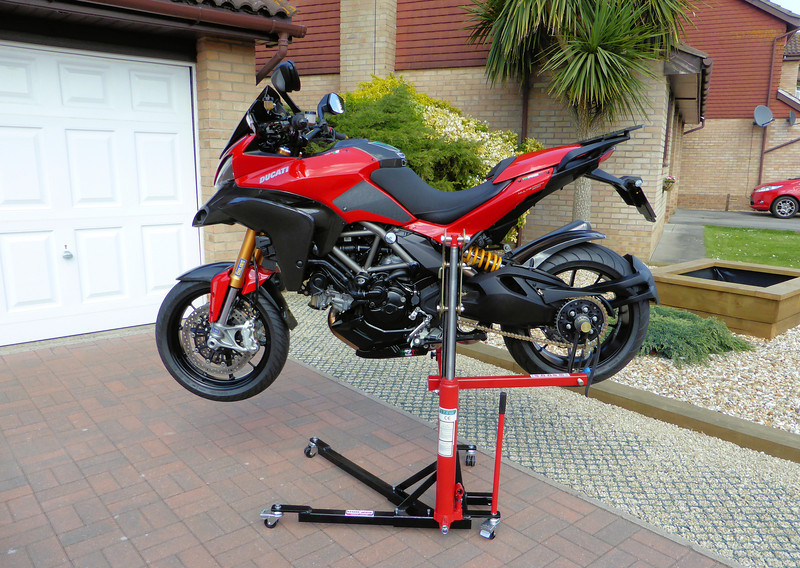After the SMT, next best thing in my garage is the abba Skylift! | KTM Owners Forum