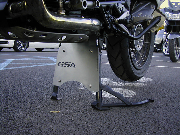 Extend the sump guard / bash plate on the R1200GS