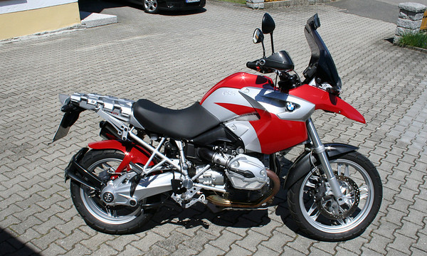 Hornig BMW R1200GS conversion