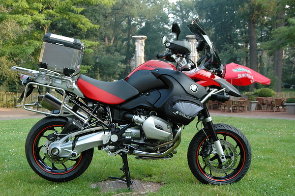 Rusor's Red Baron - 2008 BMW R1200GS Adventure